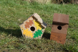 New nest boxes, ready to go